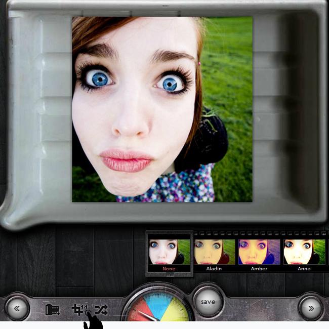 эффекты с инстаграма онлайн интерфейс кадрировать