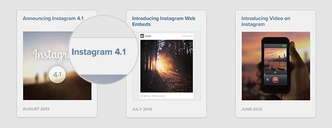 Версии инстаграм 4.1