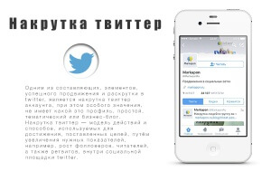 Накрутка в твиттер